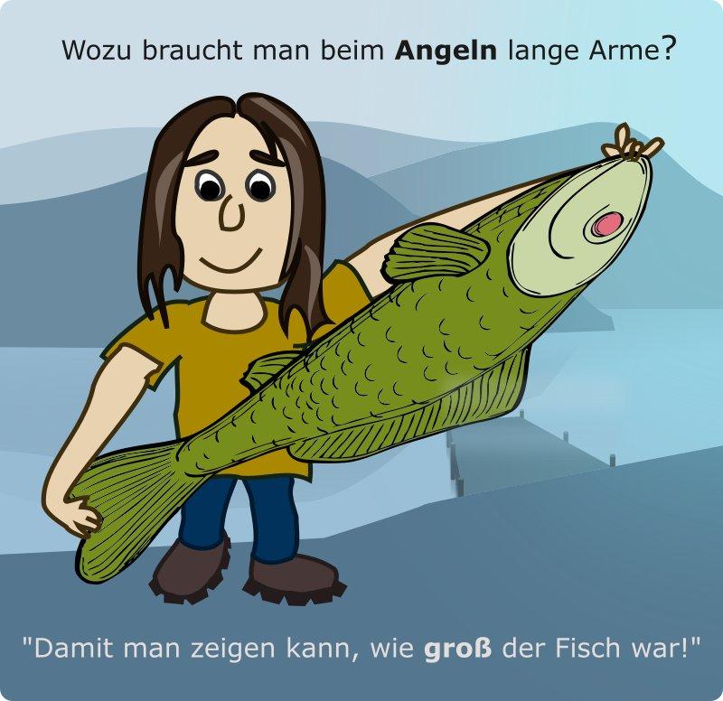 Die Besten Witze übers Angeln Und Angler