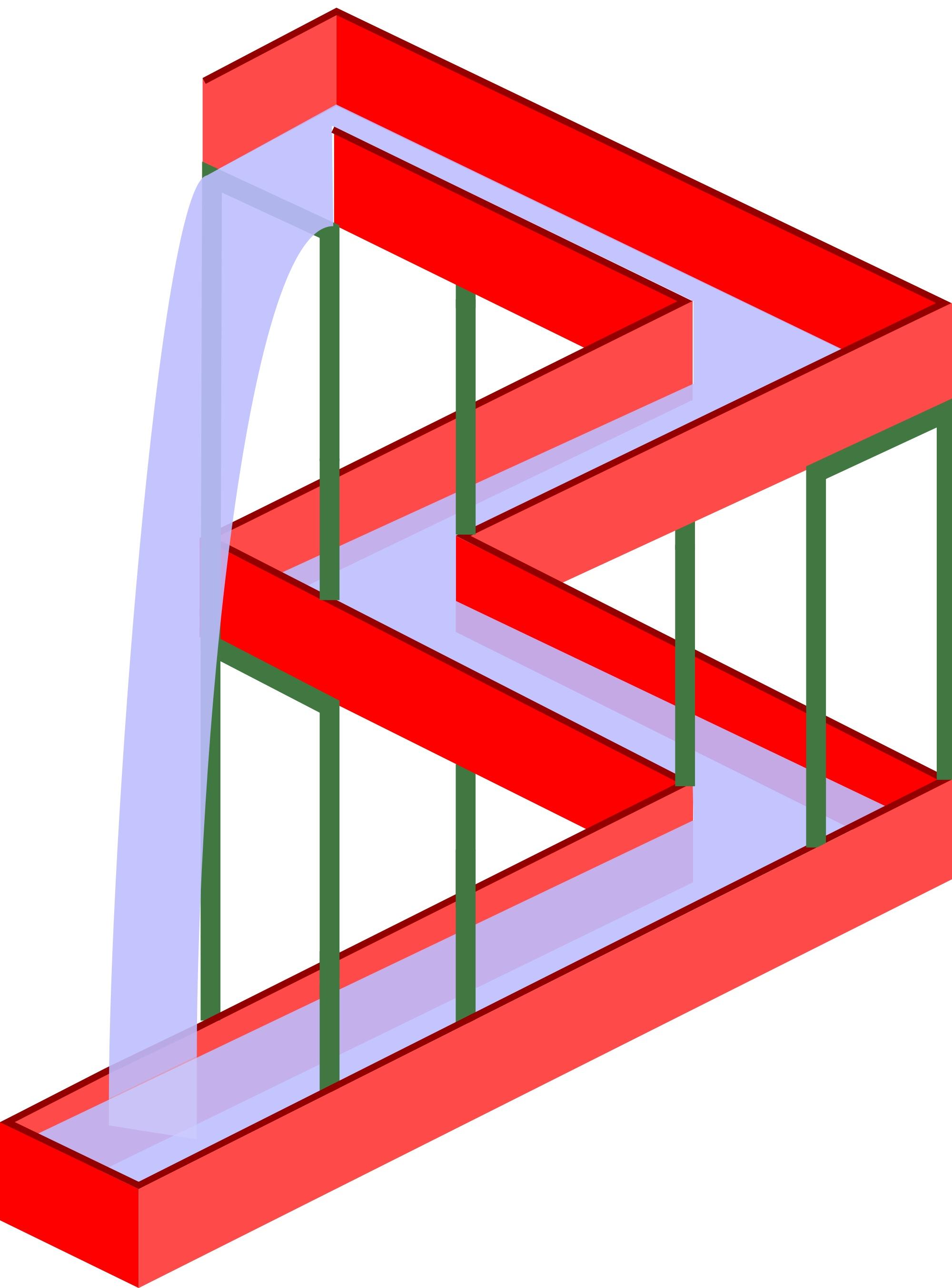 Optische Täuschung Unmögliche Bilder Und Illusionen