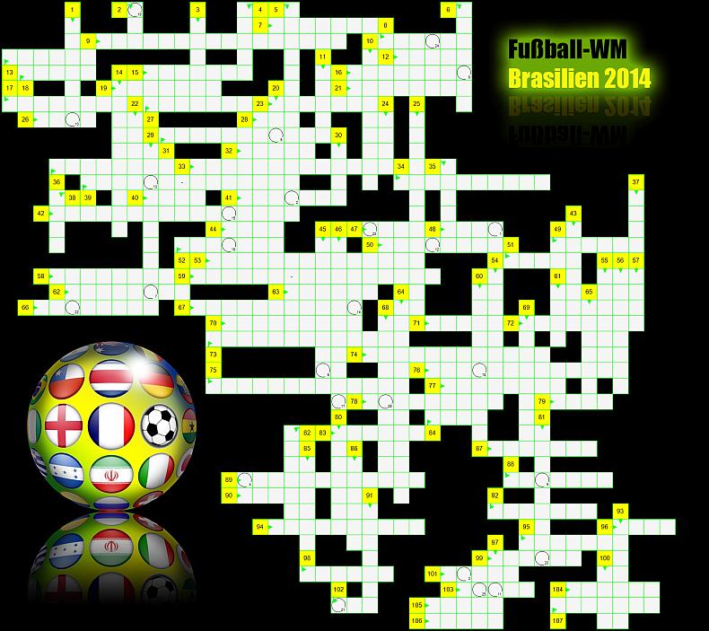 Kreuzworträtsel Fußball
