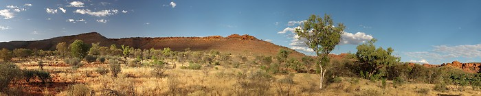 The Kings Canyon in Watarrka National Park