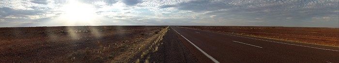 Endless Outback in Australia